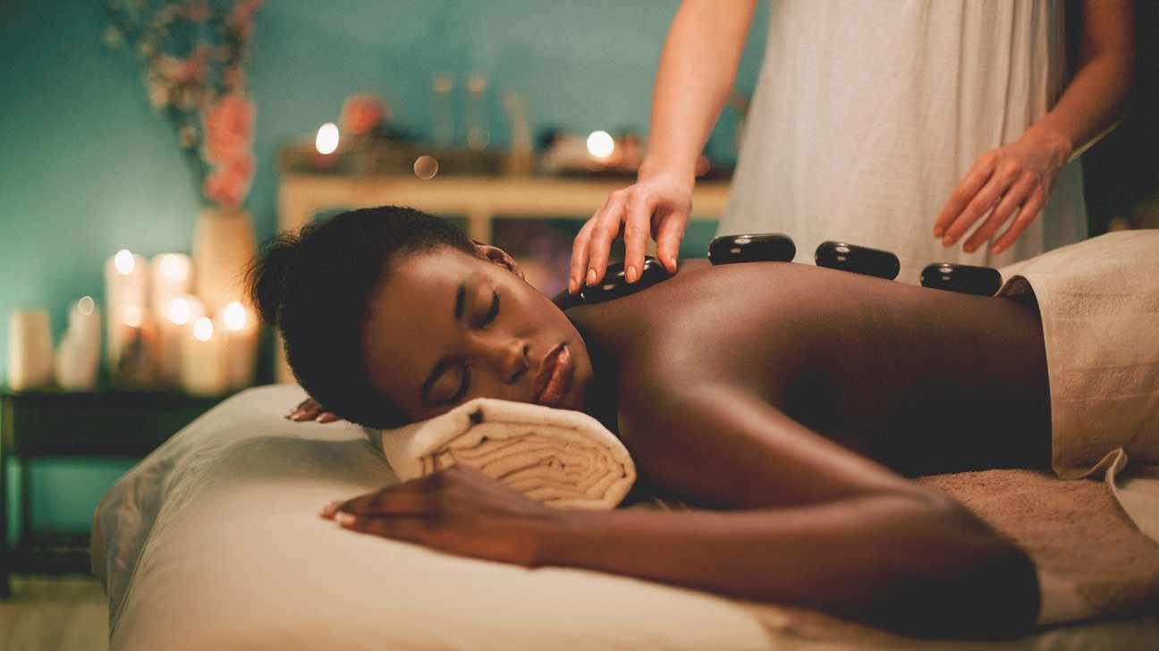 Hot Stone Massage/ Rug