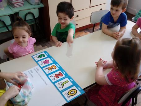 Aula de inglês para crianças