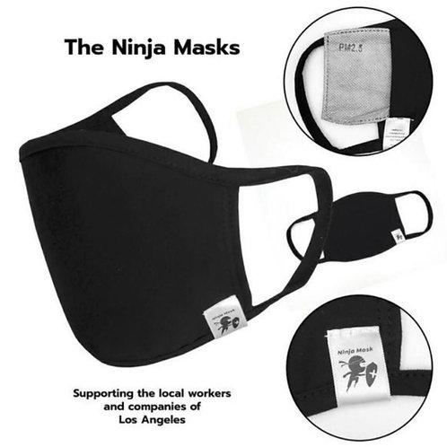 Black Cotton/Spandex Mask
