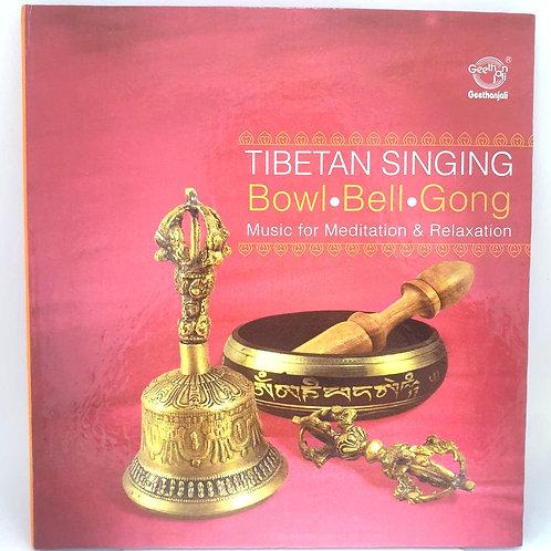 Tibetanska klangskålar, klockor och gong-gong ljud