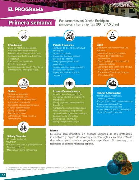 curso permacultura programa semana 1