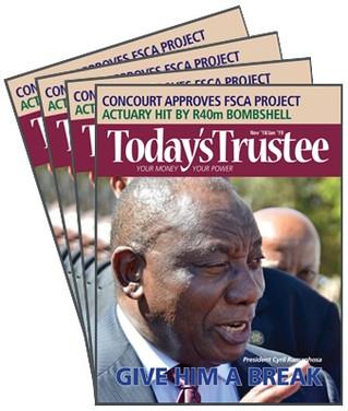 Today's Trustee Nov 2018 to Jan 2019.