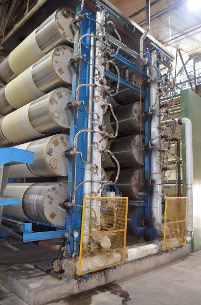Kuster Pad Steam Dyeing Open Width Washi