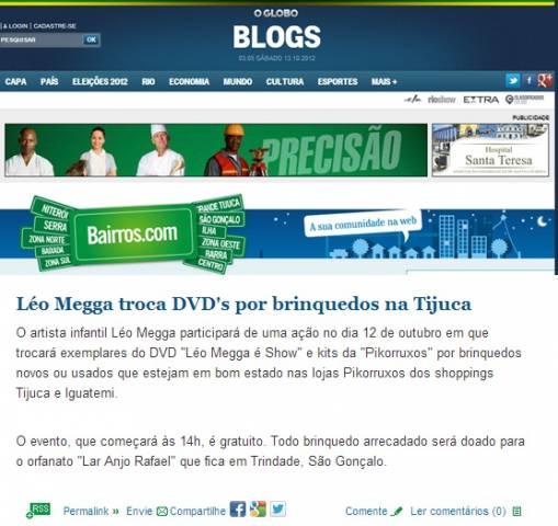 Jornal Globo- Bairros