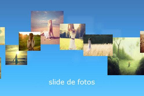 Slide de Fotos com Musica