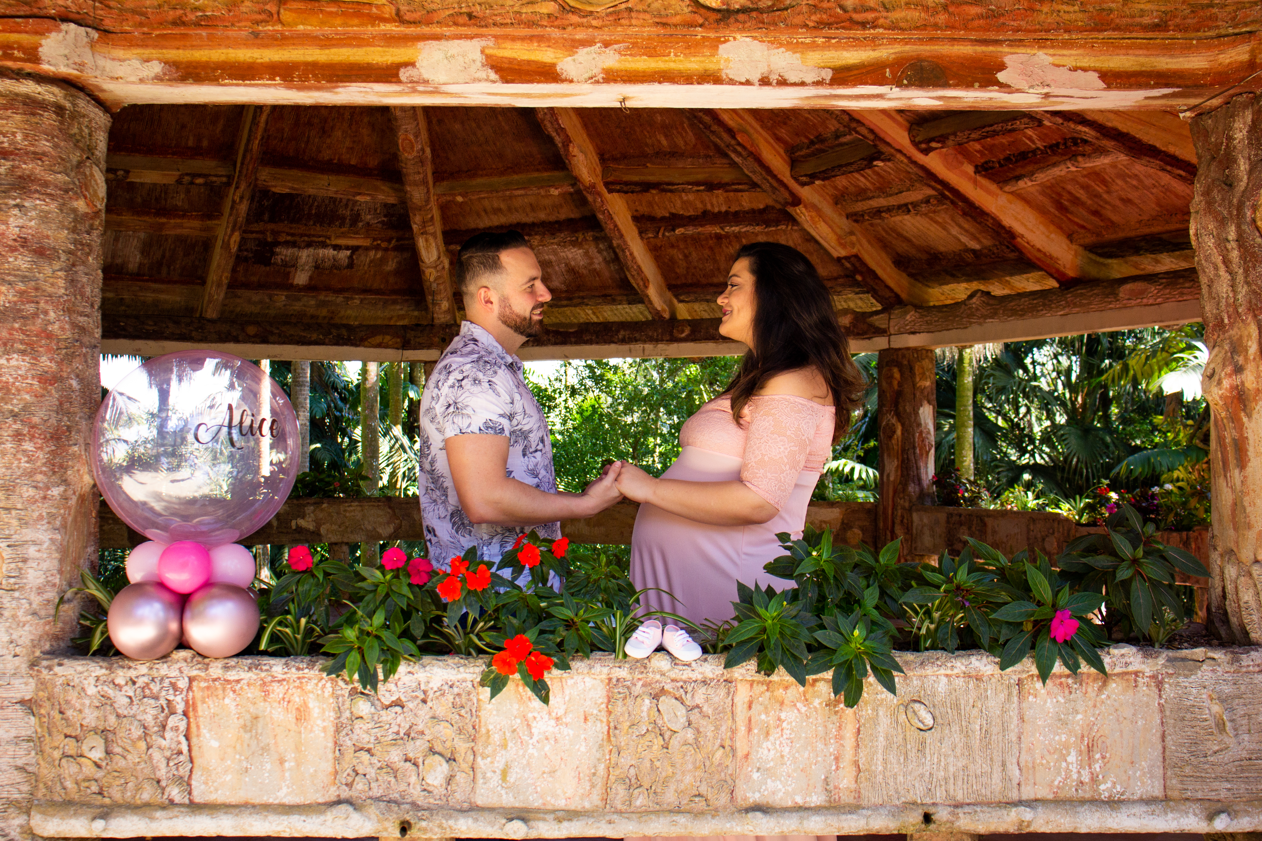 Ensaio Gestante - Andressa e Tiago - LC