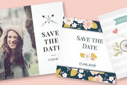 20 Convites em Papel Fotográfico 10x15