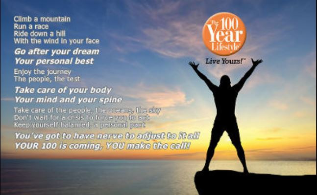 The 100 Year Lifestyle - Live Yours!