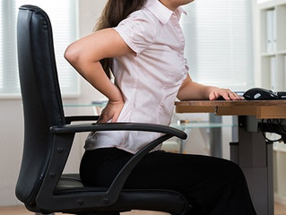 Why is sitting hurting your back?