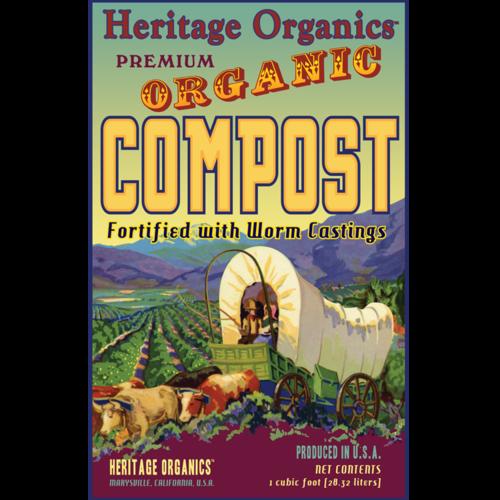 Heritage Organics Premium Compost