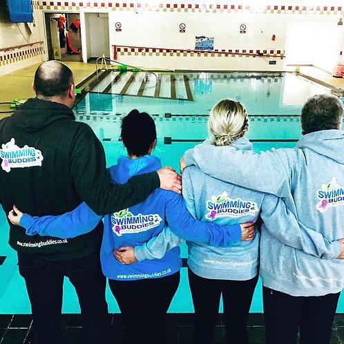 Adult Swimming Buddies Hoodie