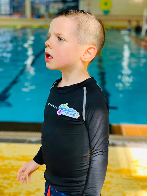 Personalised Swimming Buddies Rash Vest
