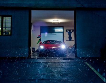 Entrada para veículos