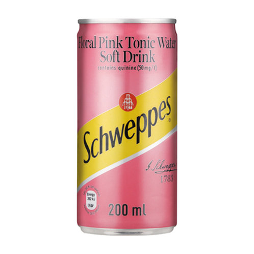 Schweppes Pink Tonic 200ml x 6