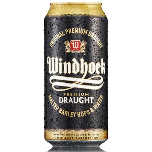 Windhoek Draught 440ml x 6