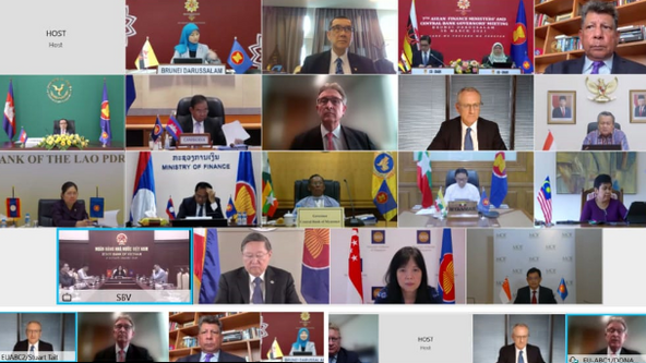 EU-ASEAN BUSINESS COUNCIL MEETS WITH ASEAN FINANCE MINISTERS AND CENTRAL BANKERS
