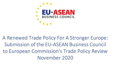 A Renewed Trade Policy For A Stronger Europe: Submission of the EU-ASEAN Business Council to Europe