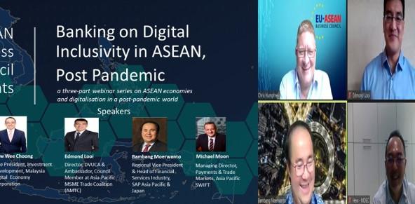 Digital Webinar Series- Banking On Digital Inclusivity In ASEAN, Post Pandemic