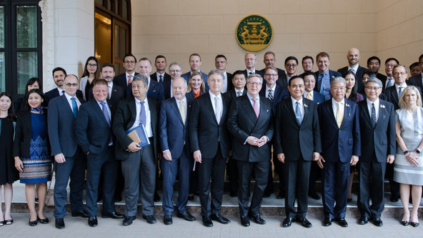 EU-ASEAN Business Council Brings Trade & Investment Mission To Thailand Meets Prime Minister Pra