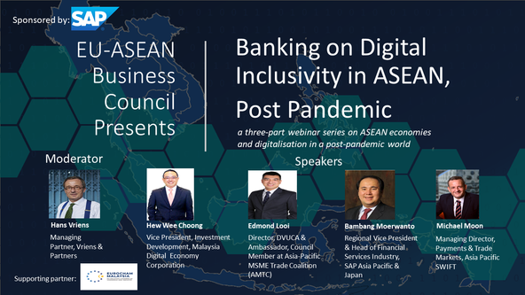 Roundup and Sound Bites for Banking on Digital Inclusivity in ASEAN, Post Pandemic Webinar