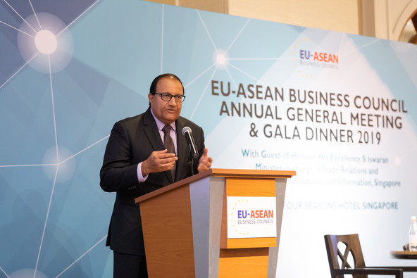 EU-ABC Holds 6th Annual General Meeting: New Executive Board Elected, Minister S Iswaran Gives Keyno