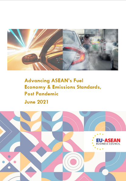 EU-ASEAN BUSINESS COUNCIL URGES ASEAN LEADERS TO MODERNISE MOBILITY SECTOR BY IMPROVING FUEL ECONOMY