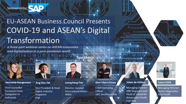 Digital Webinar Series- COVID-19 And ASEAN's Digital Transformation