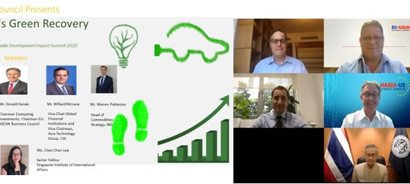 Webinar- Financing ASEAN's Green Recovery And The SDGs