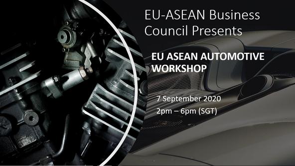 Sound Bites / Key Takeaways from the EU ASEAN Automotive Workshop