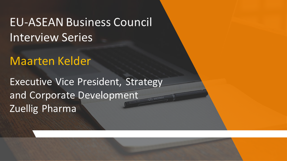 EU-ASEAN Business Council Interview Series: Maarten Kelder, Executive Vice President, Strategy and C