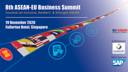 EU To Be Asean's Partner In Developing Post Pandemic Exit Strategies: 8th Asean-EU Business Summit