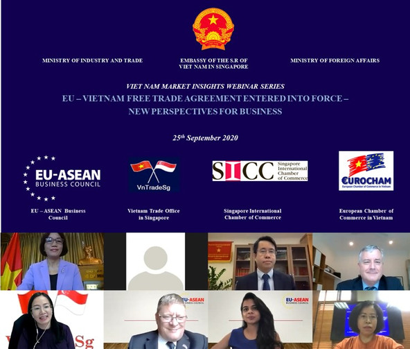 Webinar: EU – Vietnam Free Trade Agreement Entered Into Force – New Perspectives For Business