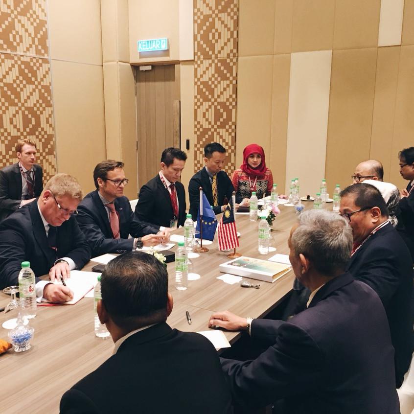 Bilateral with Malaysia