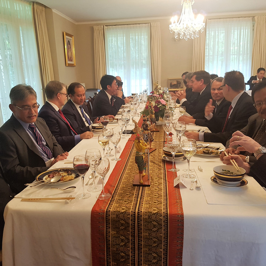 Luncheon with ASEAN Ambassadors