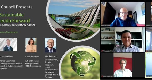 Sustainability Webinar Series: Driving ASEAN's Sustainable Infrastructure Agenda Forward