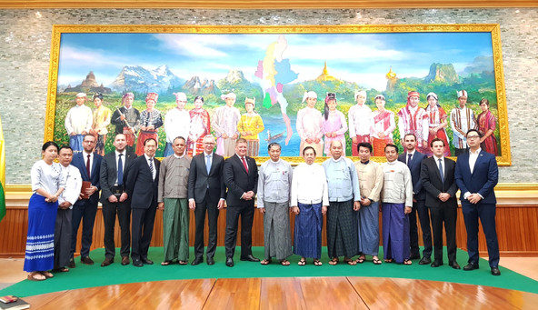 EU-ABC organises Mission Trip to Myanmar to meet Ministries