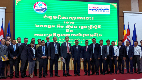 EU-ABC Takes Significant Trade and Investment Mission to Cambodia