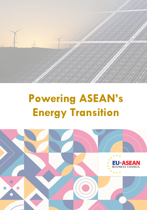 EU-ASEAN Business Council Faster Action On Energy Transition In ASEAN