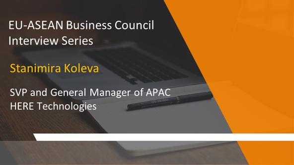 EU-ASEAN Business Council Interview Series: Stanimira Koleva, SVP & General Manager of APAC, HER