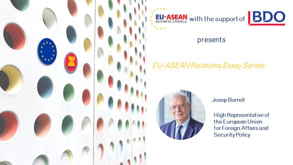 EU-ASEAN Relations Essay Series: Josep Borrell