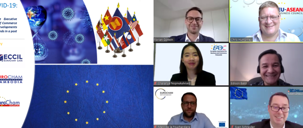 Inter-Chamber Webinar - ASEAN's Fight Against COVID-19: A European Perspective