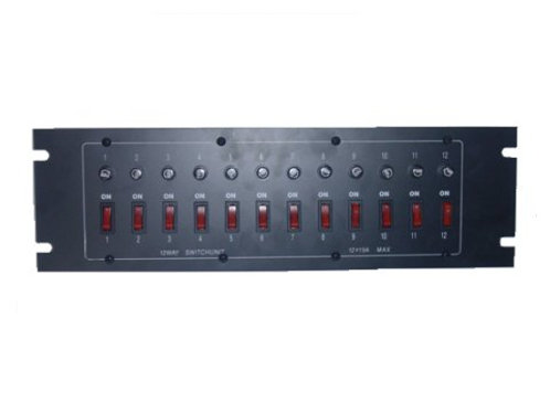 switch box 12 pcs with fuse
