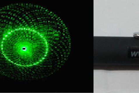"""laser pointer 1 head patern """"planet"""""""