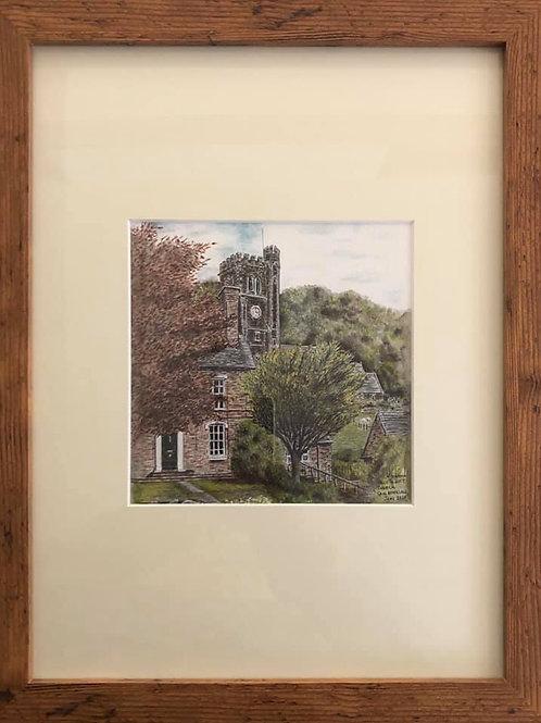 Holy Trinity Church - Framed Original