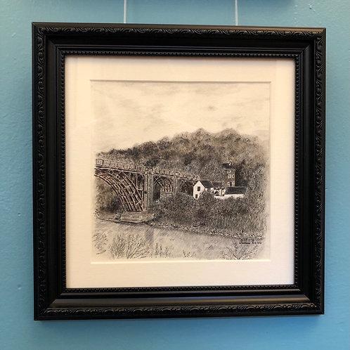 From the Wharfage - Framed Original