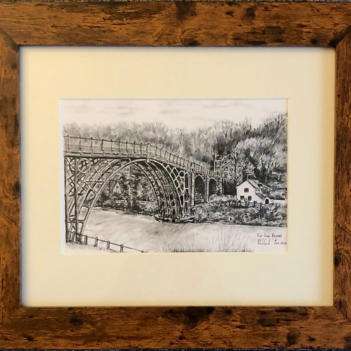 The Iron Bridge - Framed Print