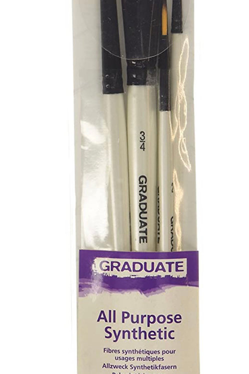 Daler Rowney Graduate Watercolour Synthetic 5 Brush Set