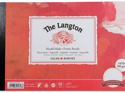 """The Langton 12"""" x 19"""" watercolour paper"""