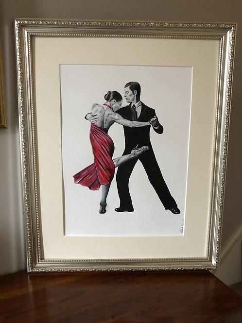 Tango - Framed Giclée Print