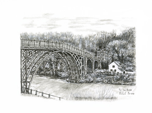 The Iron Bridge - Print